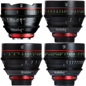 Комплект объективов Canon CN-E Lens Standart Kit (14, 24, 50, 85 mm)