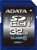 SD Card ADATA 32Gb 30Mb/s