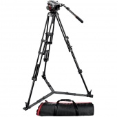 Штатив Manfrotto MIDI TWIN SYSTEM(GS), 504HD + 546GBK
