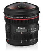 Объектив Canon EF 8-15mm F4 L USM Fisheye
