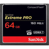Sandisk CompactFlash 64Gb 120Mb/s Extreme PRO