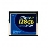 Wise CFast 2.0 128Gb 510Mb/s 3400X