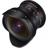 Объектив Samyang 12mm T3.1 VDSLR ED AS NCS FISH-EYE Canon EF