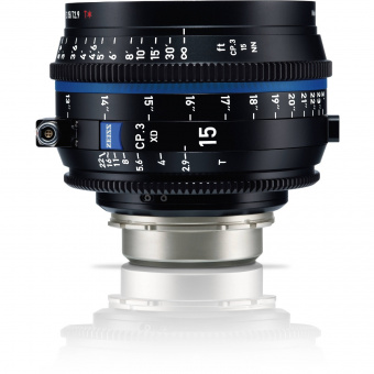 Объектив Zeiss CP.3 - 2.9/15 - metric - XD eXtended Data, PL