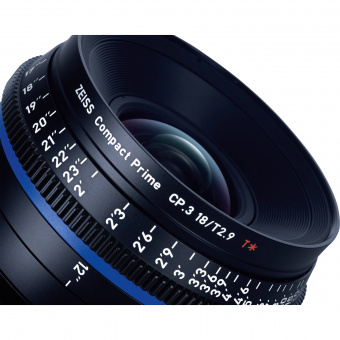 Объектив Zeiss CP.3 - 2.9/18 - metric, EF